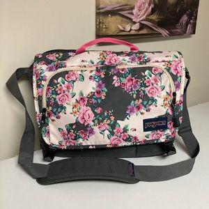 Jansport floral school bag